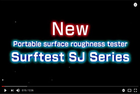 New Portable Surface Roughness Tester Surftest SJ Series