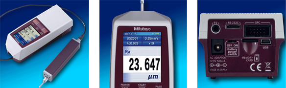 Surftest SJ-210 with NIST Calibration Certificate