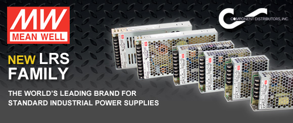 Mean Well: New LRS Family The New Generation of Industrial Standard Power Supplies