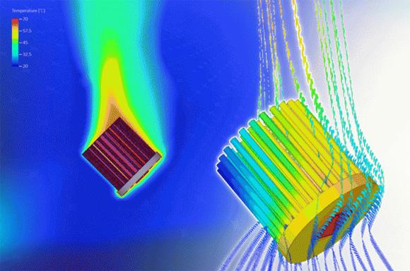 MechaTronix Advanced Pin Fin LED Coolers