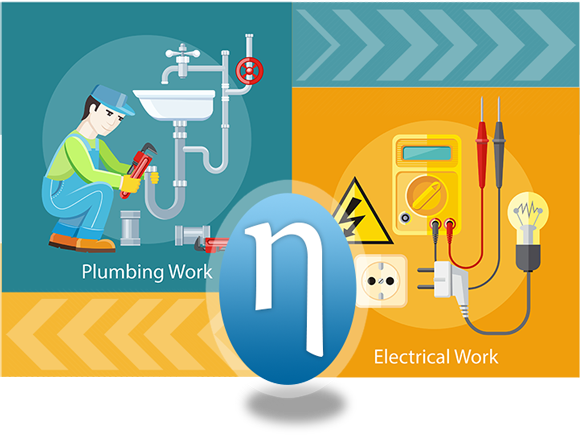 Plumbing Work / Electrical Work