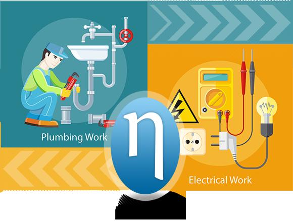 Plumbing Work / Electrical Work