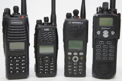 Digital Professional Mobile Radio and Land Mobile Radio handsets