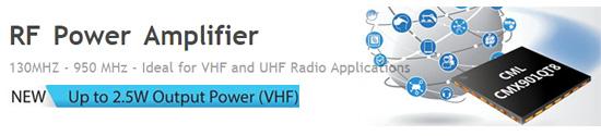 CML Microcircuits RF Power Amplifier