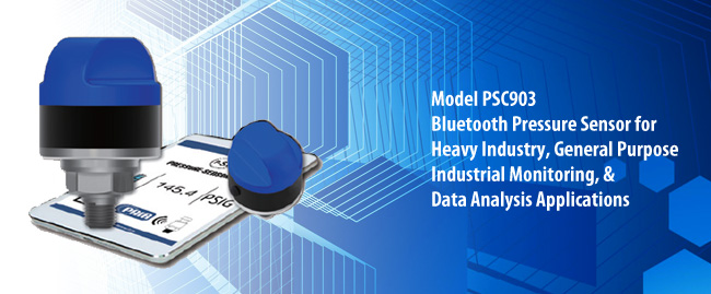 Pressure Sensor Limited Bluetooth Pressure Sensor for Model PSC903
