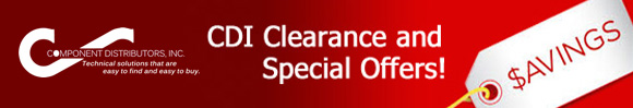 CDI Clearance and Special Offers