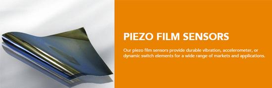 Piezo Film Sensors