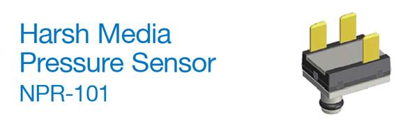 Harsh Media Pressure Sensor NPR-101