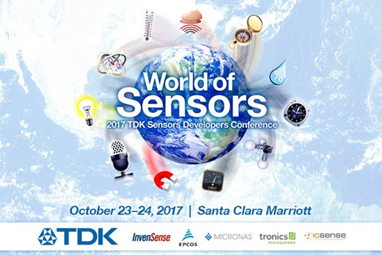 2017 TDK-Sensors Developers Conference