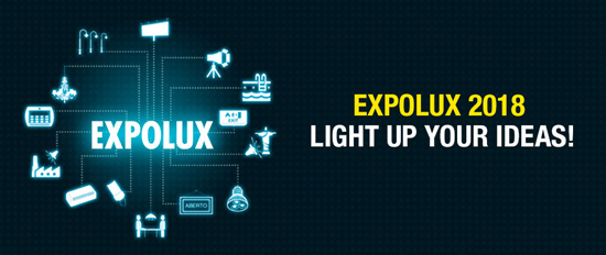 EXPOLUX 2018 Light Up Your Ideas!