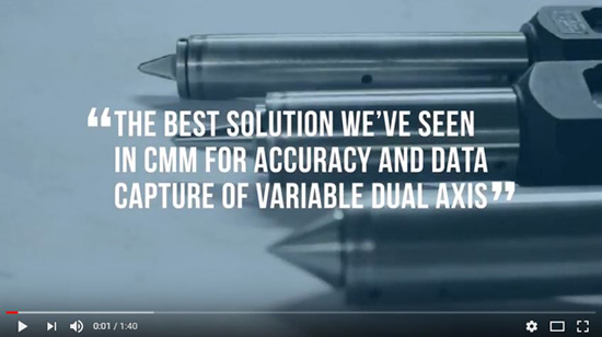 The Best Solution We've Seen In CMM For Accuracy And Data Capture of Variable Dual Axis