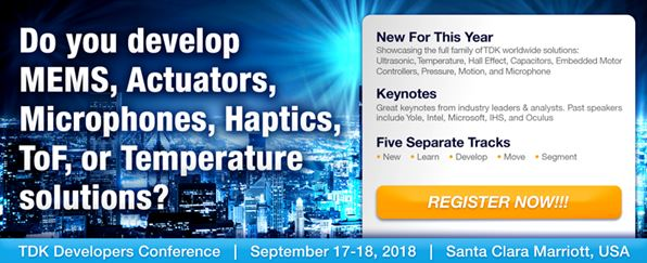 Do you develop MEMS, Actuators, Microphones, Haptics, ToF, or Temperature solutions?