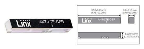 CER Series Ceramic LTE Chip Antenna