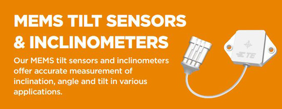 MEMS Tilt Sensors & Inclinometers