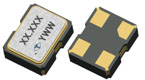 2.05 x 1.65 mm FASTXO Low Noise Series SMD Crystal Oscillator
