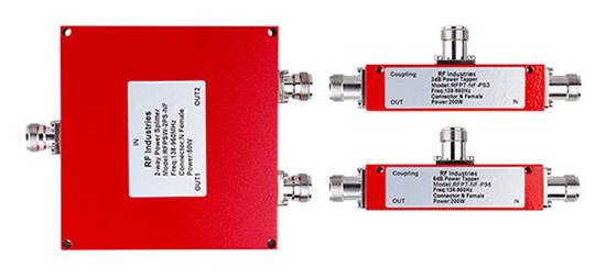 Passive Components for DAS covers all Public Safety Frequency bands including VHF