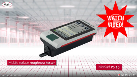 Watch the PS 10 FI Mobile Surface Roughness Tester Video
