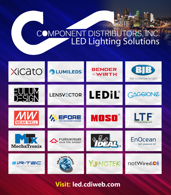 Component Distributors Inc. LED Lighting Solutions