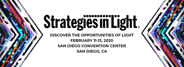 Strategies in Light, Feb 11-13, San Diego Convention Center, San Diego, CA
