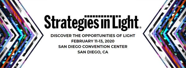 Strategies in Light, Feb 11-13, San Diego Convention Center, San Diego, CA