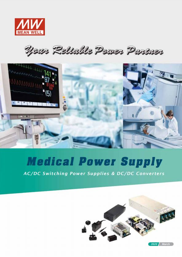 Mean Well Medical Power Supply Catalog