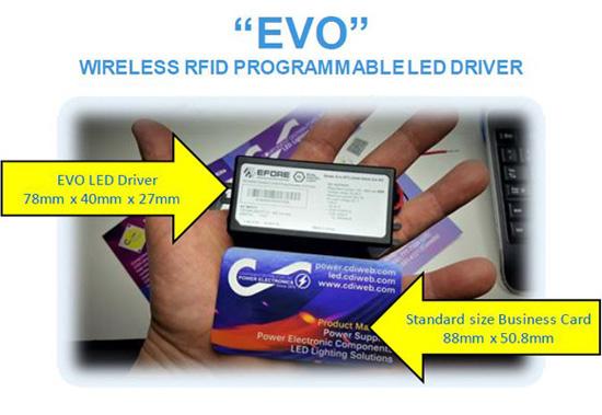 EVO - Wireless RFID Programmable LED Driver