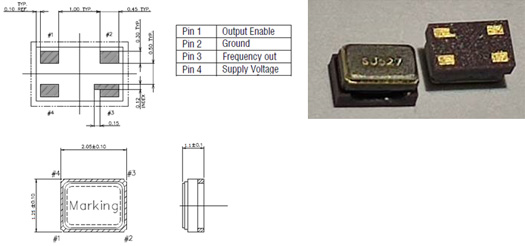 TST Introduces World's Smallest 32.768 kHz TCXO, Measures Only 2.1*1.3 mm