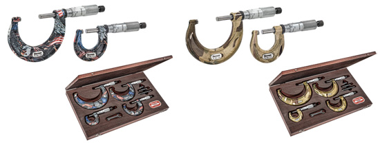 Limited Special Edition Themed Micrometers