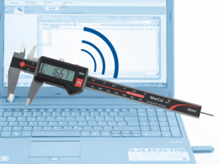 Mahr Digital Calipers with Integrated Wireless
