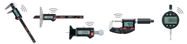 Industry-leading precision measuring tools with Integrated Wireless Data Transmission