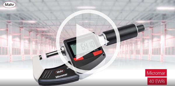 MICROMAR 40 EWRI DIGITAL MICROMETER Video