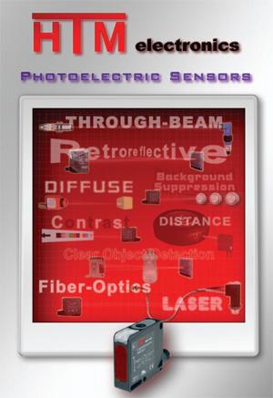 Download the HTM Sensors Photoelectric Sensors Catalog