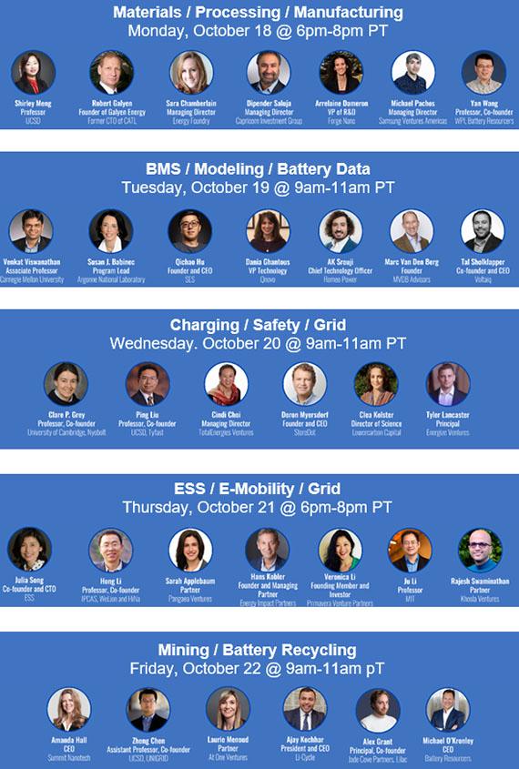 Join TDK Ventures Energy Week 2021: Schedule